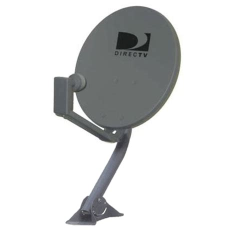 directv 18x20 inch dish antenna with dual output lnb and mount 46dtvde2 from solid signal