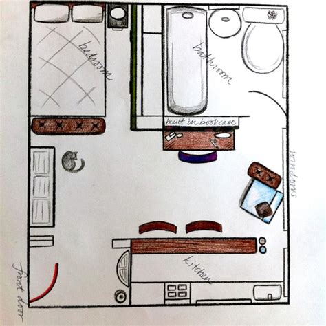 350 square feet kristen s fit everything in small cool contest