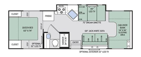 chateau rv floor plans chateau 5 suncoast rv rental
