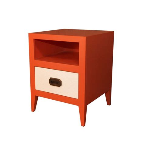 Orange Nightstand nightstand in orange and kid s room finds