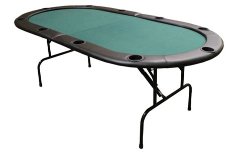 82 quot foldable hold em table w legs green