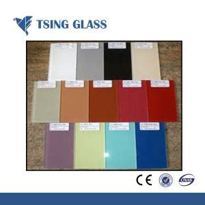 china tempered painted glass supplier and manufacturer