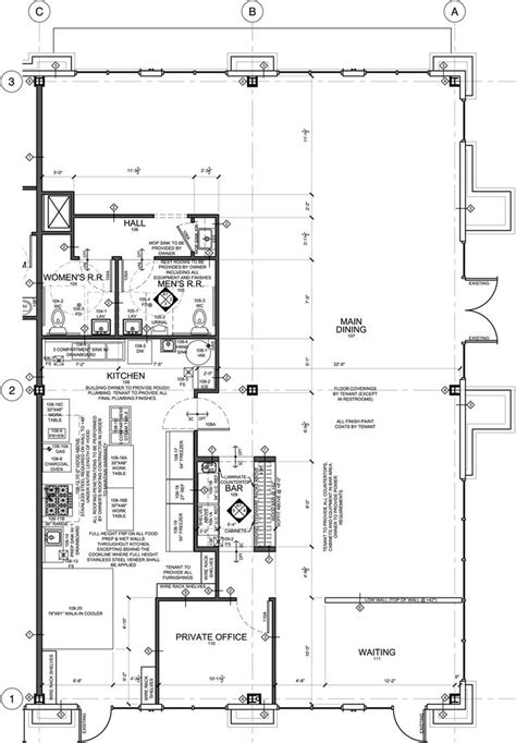 subway restaurant floor plan 25 best ideas about restaurant kitchen design on