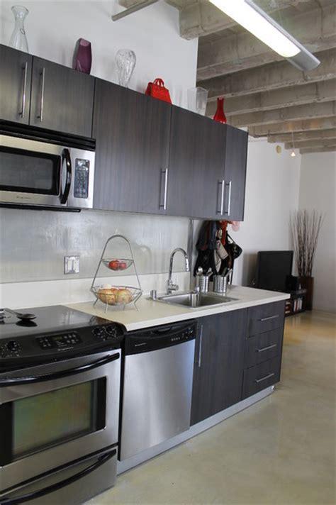 Loft Modern Kitchen modern loft kitchen contemporary kitchen los angeles