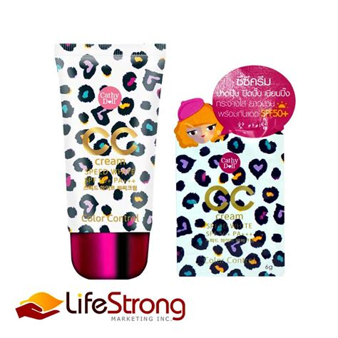 Sle Cathy Doll Speed White Cc Spf 50 Pa cathy doll speed white cc spf50 lifestrong