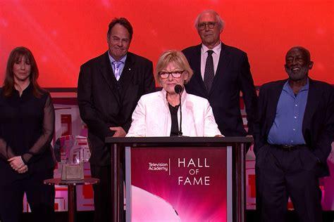 hall  fame saturday night  original cast television academy