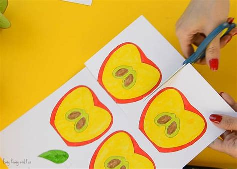 fruit 3d craft 3d paper fruit craft easy peasy and