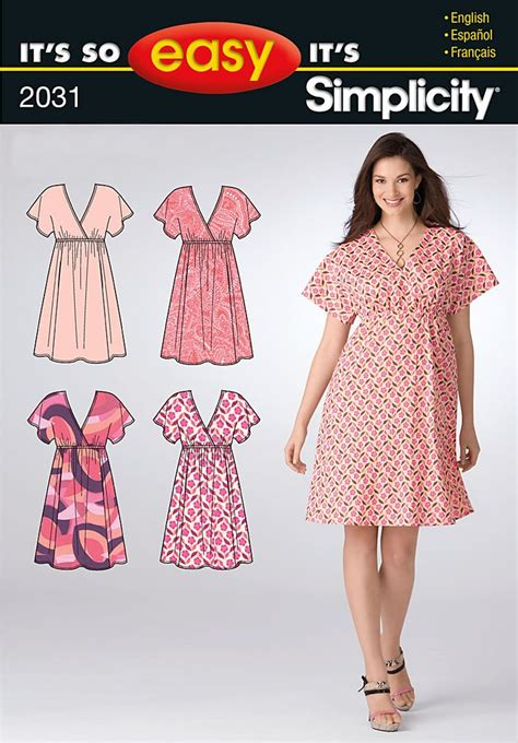sewing pattern simple dress for all my plus size girls who buy dresses from torrid for