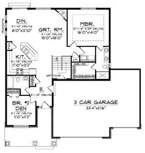 Ranch Floor Plans With 3 Car Garage by 301 Moved Permanently