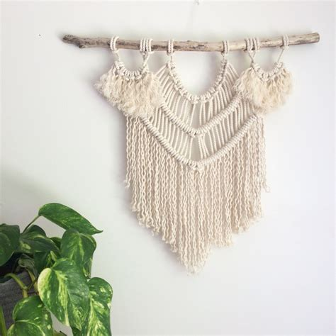Macrame Kit - diy kit macrame wall hanging