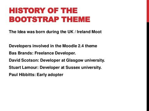 moodle theme building building a moodle theme with bootstrap