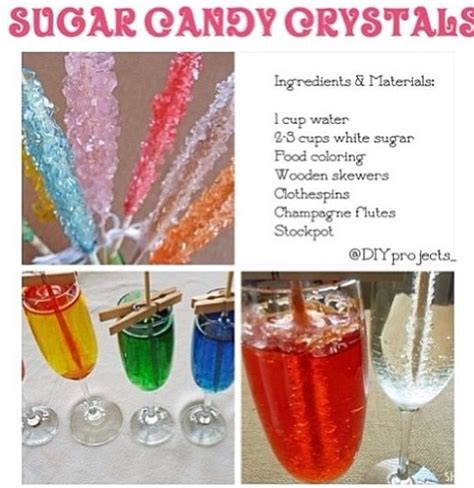 how to make sugar candy crystals fun for chase