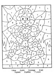 the color purple book page count color by number coloring pages coloring page for