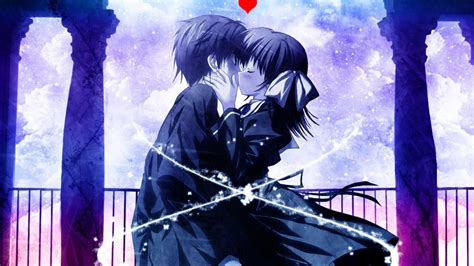 imagenes anime romanticas hd fondo pantalla anime amor