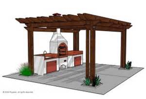 Bbq Pergola Plans by Outdoor Kitchens