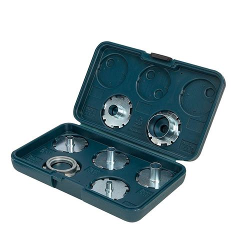 Bosch Ra1125 7 Router Template Guide Set bosch router template guide kit 7 ra1125 the