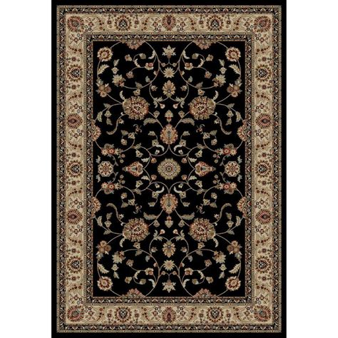 black accent rugs concord global trading jewel marash black 2 ft 7 in x 4