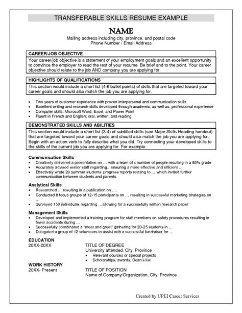 summary of qualifications resume examples summary qualifications