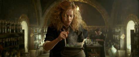 Hermione Granger Potions by Image Watson Half Blood Prince Harry Potter