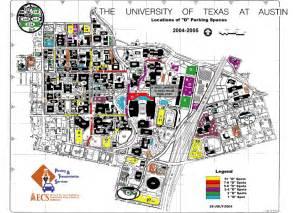 Ut Building Map Ut Disabled Parking Parking Spaces