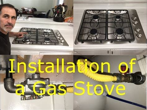 how to remove electric cooktop how to install a gas stove and remove an electric stove