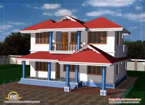 2 story house designs two story house plan 1800 sq ft kerala home design