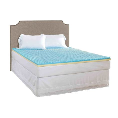 gel bed topper broyhill broyhill twin xl size 2 in gel mattress topper