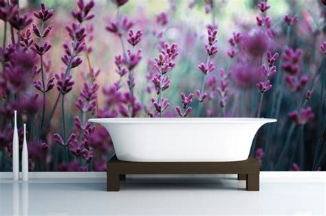 purple flower wallpaper uk fashionable interior do your walls match the runways