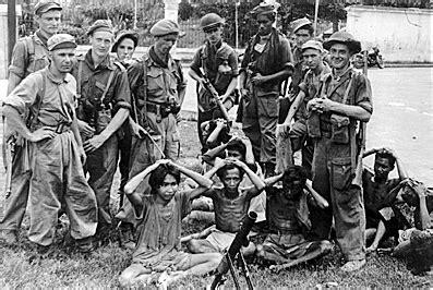 Resistance Indonesia knil koninklijk nederlands indisch leger captured