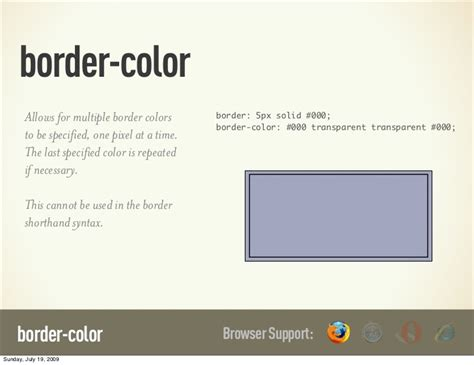css border color border color allows for border