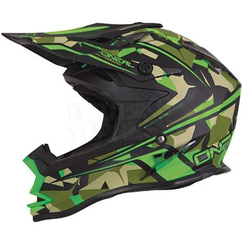 2016 Oneal 7 Series Evo Motocross Helmet Camo Green