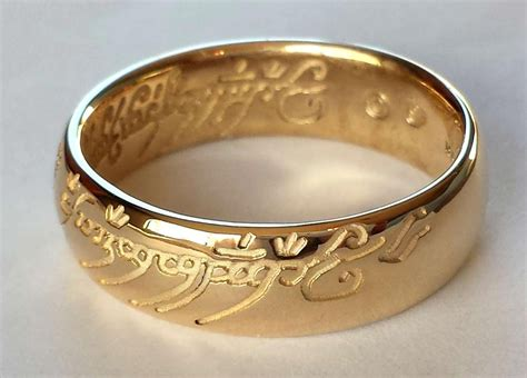 awesome lord of the rings ring white gold matvuk