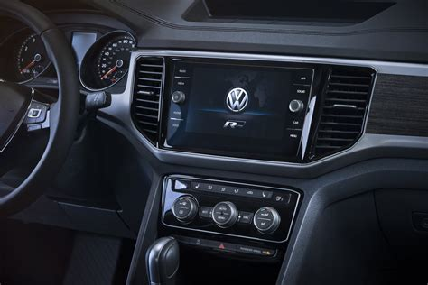 volkswagen atlas r line interior 2018 vw atlas r line look arrives may 2017 to usa