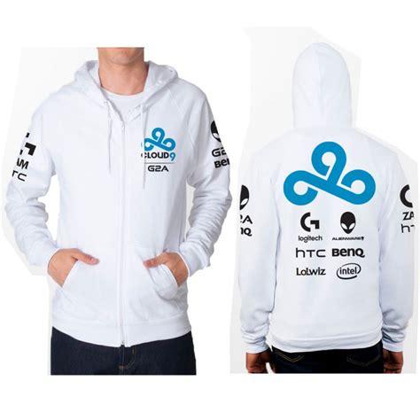 lol gaming team cloud 9 c9 original design dota2 fleece hoody cloud9 hoodies