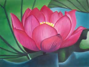 Lotus Flower Sculpture Japanese Lotus Flower Toren Painting At Artistrising