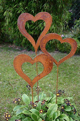 Garten Deko Metall Rost by Edelrost Gartendeko Storeamore