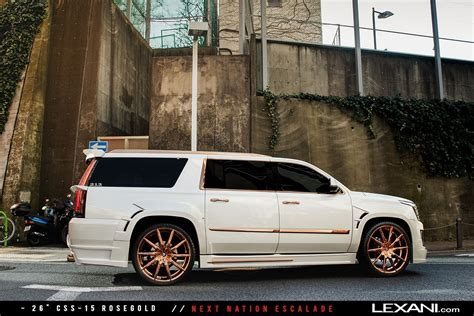 Wheels Cadillac lexani wheels on 2016 cadillac escalades