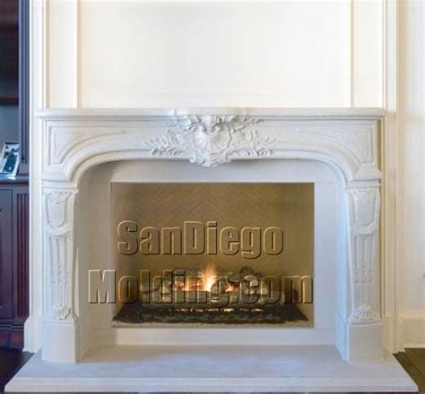 Fireplace Moldings by San Diego Molding Precast Fireplace Mantles