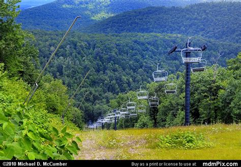 Blue Knob Ski Pa by Blue Knob Ski Resort Slopes Picture 038 July 18 2009