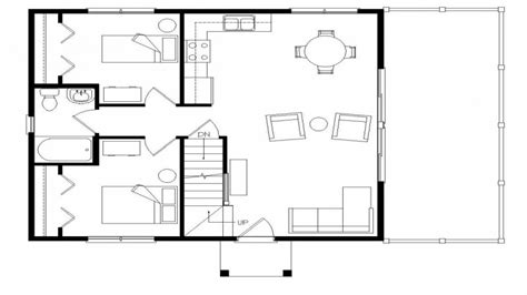 Small Open Floor Plans With Loft | small open concept floor plans open floor plans with loft