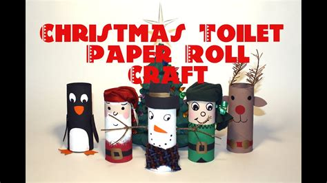 diy christmas decorations recycled toilet paper roll