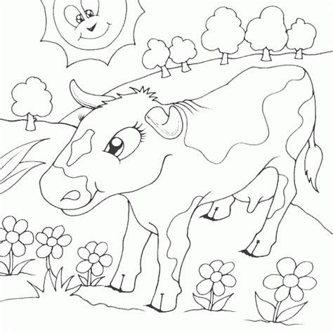 coloring pages field of flowers free flower field coloring pages