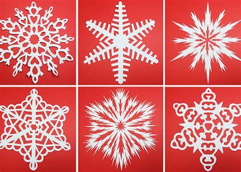 Schneeflocken Aus Papier Basteln by Schneeflocken Aus Papier Diy