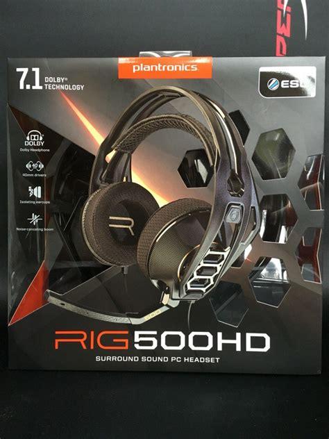 Plantronics Rig 500 Hd обзор игровых наушников plantronics rig 500hd