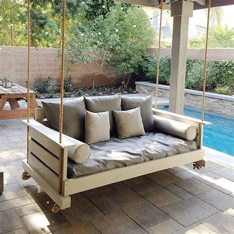 daybed swing outdoor lowcountry swing beds the midtown daybed twin swing