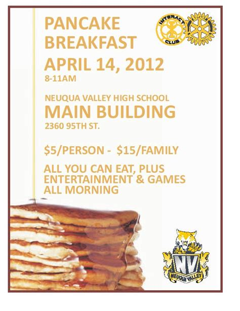 pancake breakfast ticket template pancake breakfast ticket template 28 images pancake