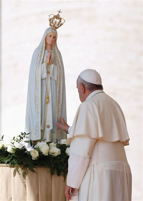 lade di sale rosa fatima statue will visit the diocese the tablet