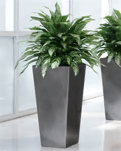 decorative plant containers silkflowers plant and