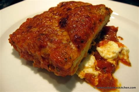 baked tofu parmigiana priyanka s kitchen