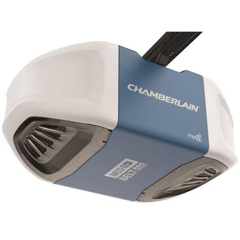power drive garage door opener shop chamberlain 0 5 belt drive garage door opener at